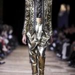 BALMAIN FW13 PFW FashionDailyMag sel gold 2