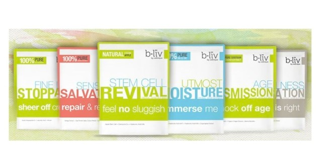 B LIV by cellnique beauty mask range | FashionDailyMag