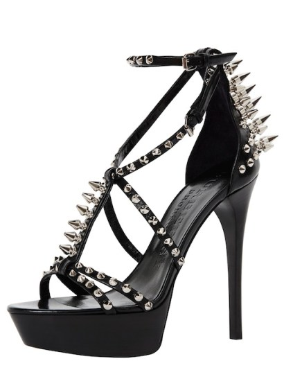 Burberry Met Capsule Collection - Women's studded shoes-1