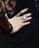 Cara Delevingne rings in cannes