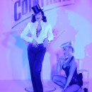 DITA Von Teese performs at CANNES FILM FESTIVAL