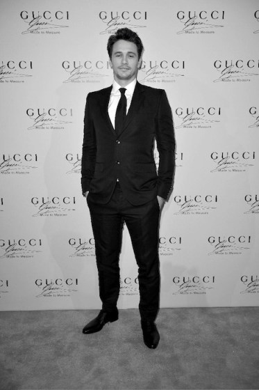 james franco for gucci on fashiondailymag