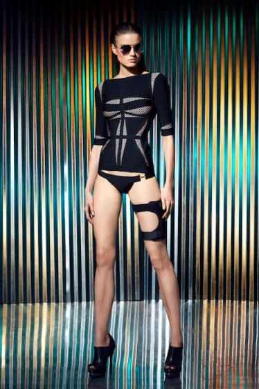 Herve Leger by Max Azria Resort 2014 fashiondailymag selects 12
