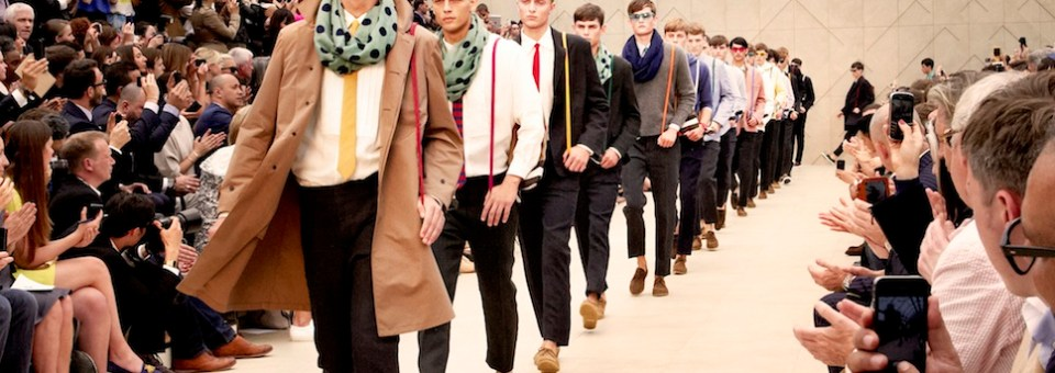 Burberry mens spring 2014 runway