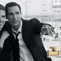 Dolce & Gabbana campaign: Scarlett Johansson and Matthew McConaughey