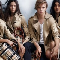BURBERRY spring campaign by Mario Testino