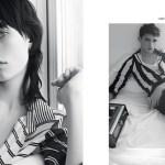 EDIE CAMPBELL by karim sadli Sandro Spring 2014 FashionDailyMag