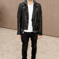CELEBs front row at Menswear Fall 2014