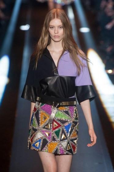 ONDRIA HARDIN Fausto Puglisi fall 2014 FashionDailyMag sel 14
