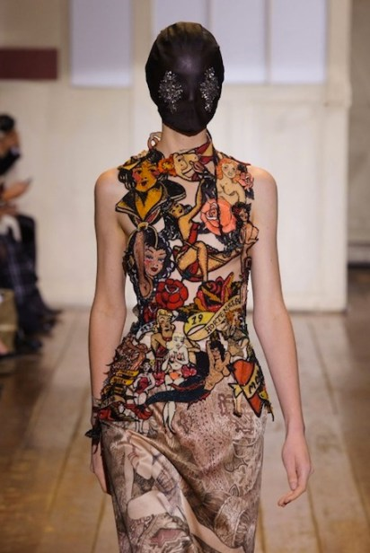 maison martin margiela spring 2014 couture spring 2014 FashionDailyMag sel 7