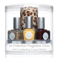 stylish hands with sun protection