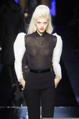 devon JEAN PAUL GAULTIER haute couture Fall 2014 FashionDailyMag