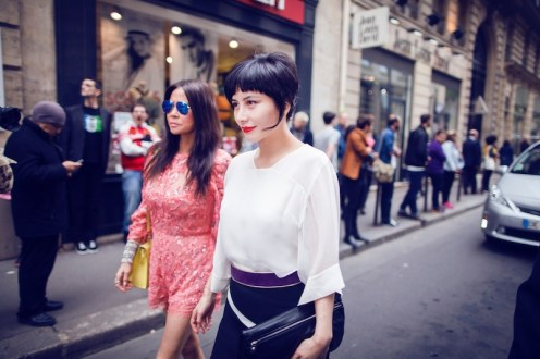 Josie Ho and Yvette Yung at Paris Couture week FashionDailyMag sel 1