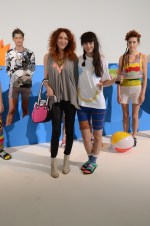 brigitte segura and designer lindsey degen at DEGEN ss15 NYFW FashionDailyMag copy