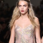 cara delevingne Topshop Unique SS15 (Christopher James, British Fashion Council) 3