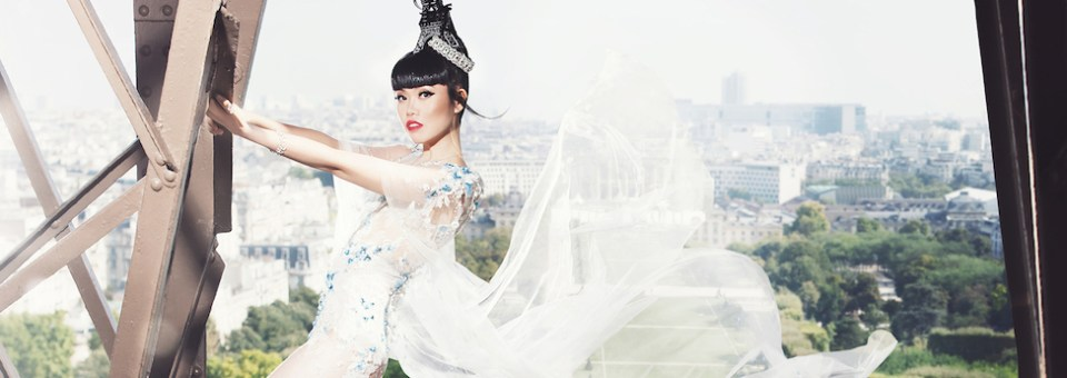 Eiffel Tower Catwalk with J Autumn fashion show