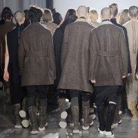 RICK OWENS menswear fall 2015 Paris