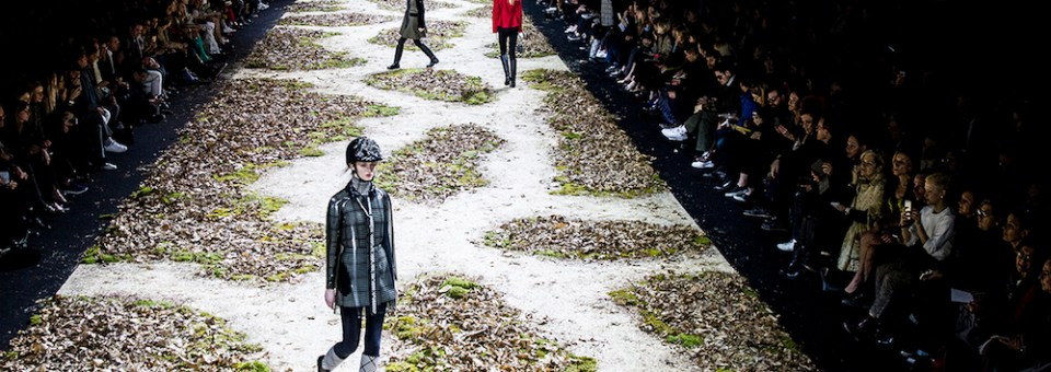 MONCLER GAMME ROUGE fall 2015 equestrian