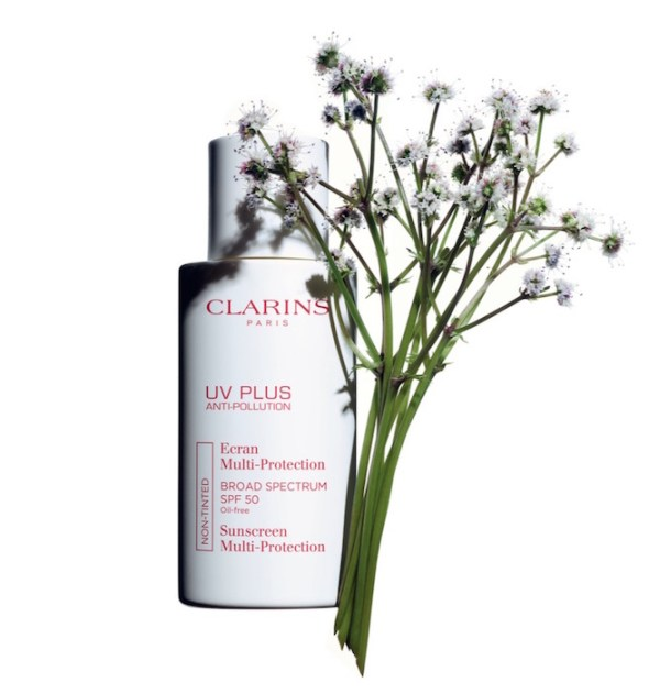 clarins UV plus face lotion spring beauty FashionDailyMag