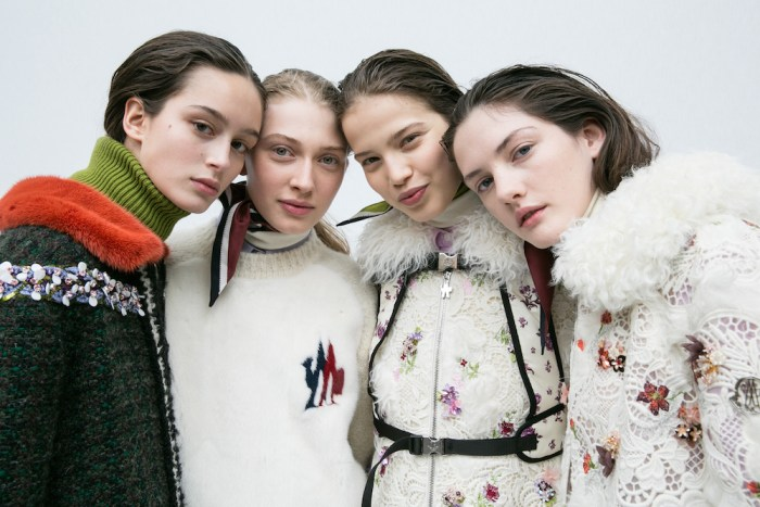 MONCLER GAMME ROUGE FW17 PFW FASHIONDAILYMAG 18