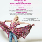 Betsey Johnson hosts party for Breast Cancer Awareness