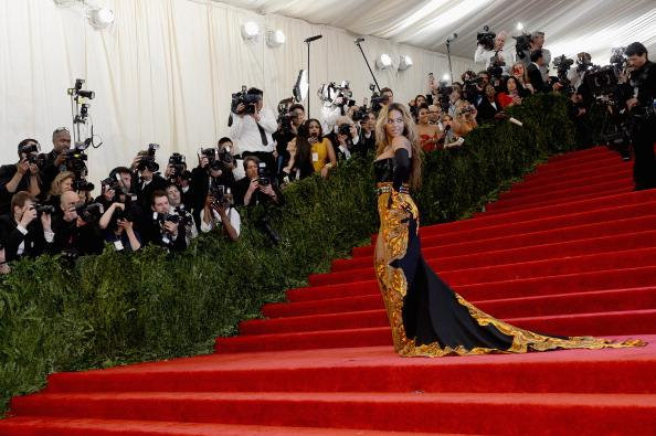 Beyonce attends the Met Gala clad in Givenchy Haute Couture