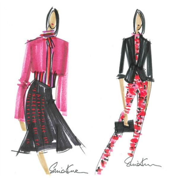 LWren Scott x Banana Republic Sketches