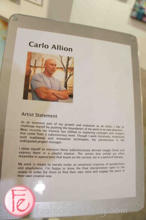 The Artist Project Opening Night Preview Party- Carlo Allion