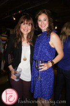 Kristin Booth and Carrie-Lynn Neales (Rose Maybellene in Seed) at Mingle for A Mission