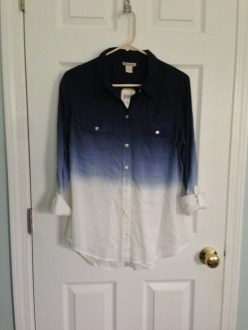 May Find #2: Lucky Brand Brooke Dip Dye Shirt