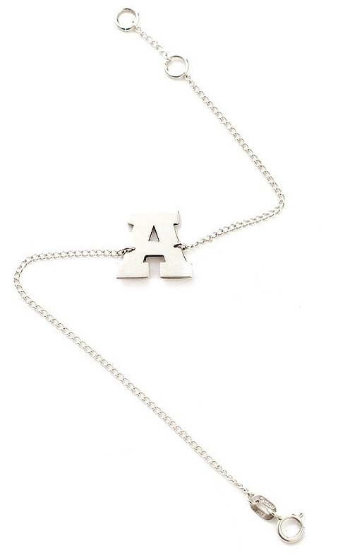benna jewellery - initial bracelet