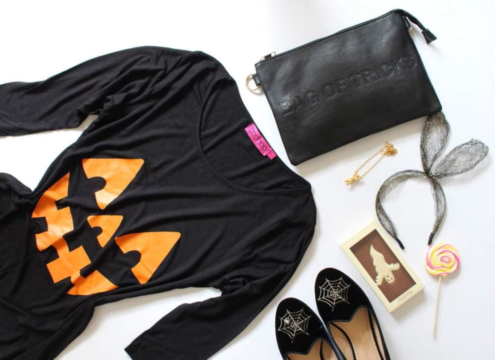 boohoo halloween dress pumpkin