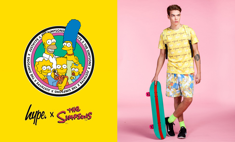 hype x the simpsons collaboration topman topshop menswear blogger uk london cool