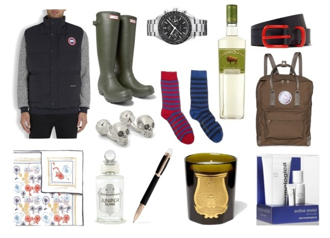 mens gift guide canada goose montblanc socks cologne omega watch hunter wellies