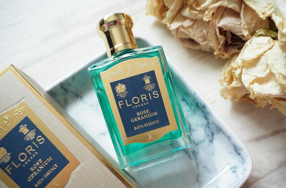 Floris Rose Geranium Bath Essence