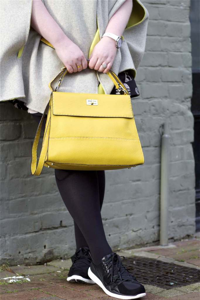 Ootd mellow yellow fashion for lunch for Boden yellow bag