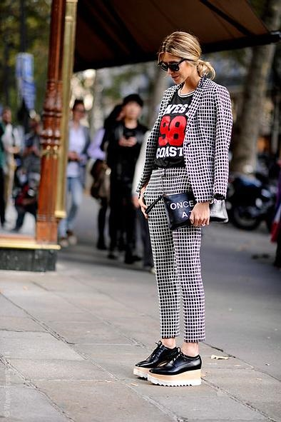 Paris Street Style Fashion, PFW, SS15