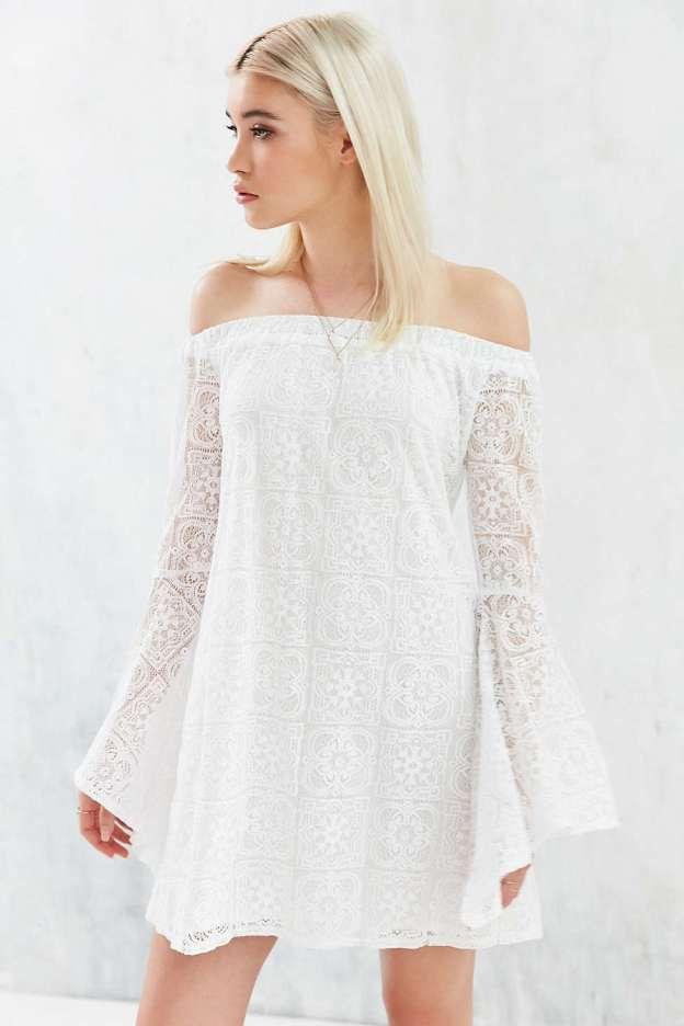 Cute White Summer Dress