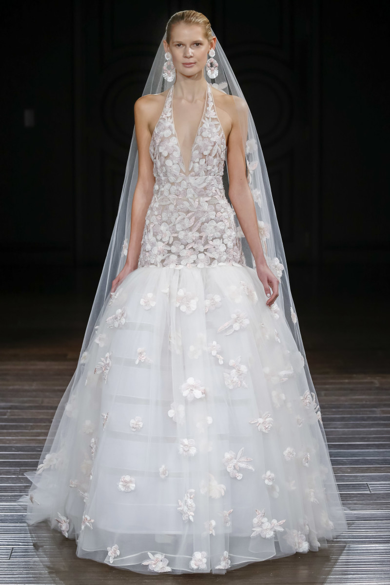 wedding dress underwear wedding dress undergarments A look from the Naeem Khan bridal spring collection Photo courtesy