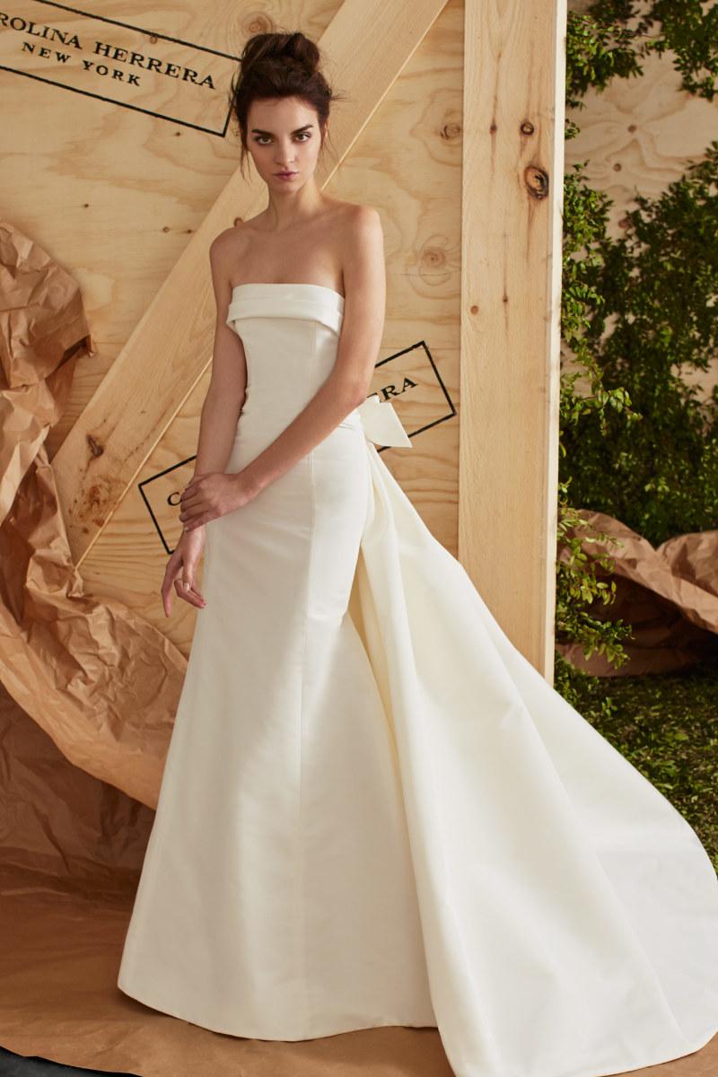wedding dress underwear wedding dress undergarments carolina herrera ss17 strapless wedding dress