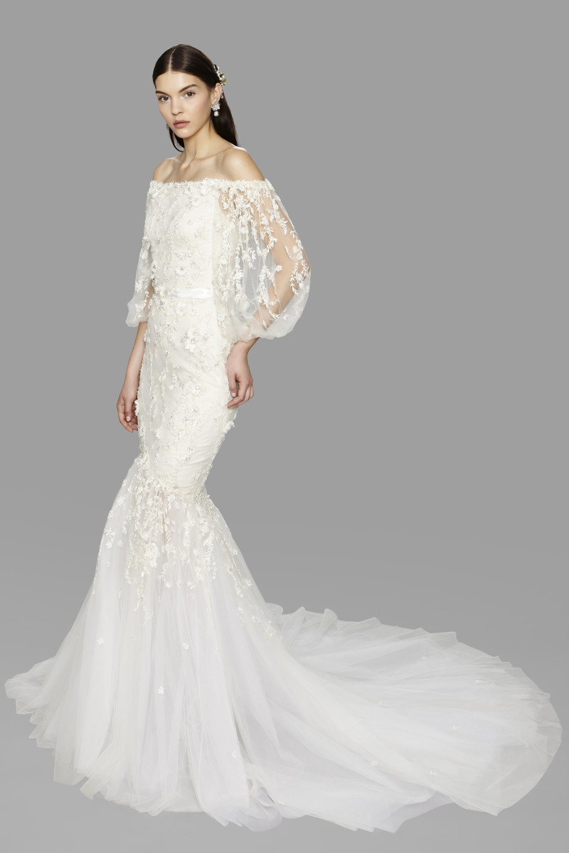 best wedding dresses fall best wedding dress A look from the Marchesa fall bridal collection Photo Raul Tovar