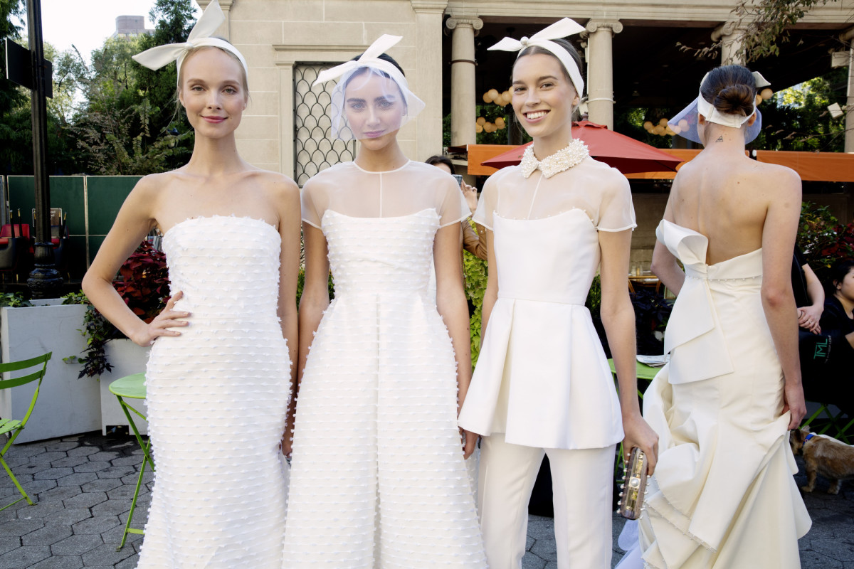 best wedding dresses fall best wedding dress Guess which Lela Rose look made our list Photo Taylor Jewell courtesy of