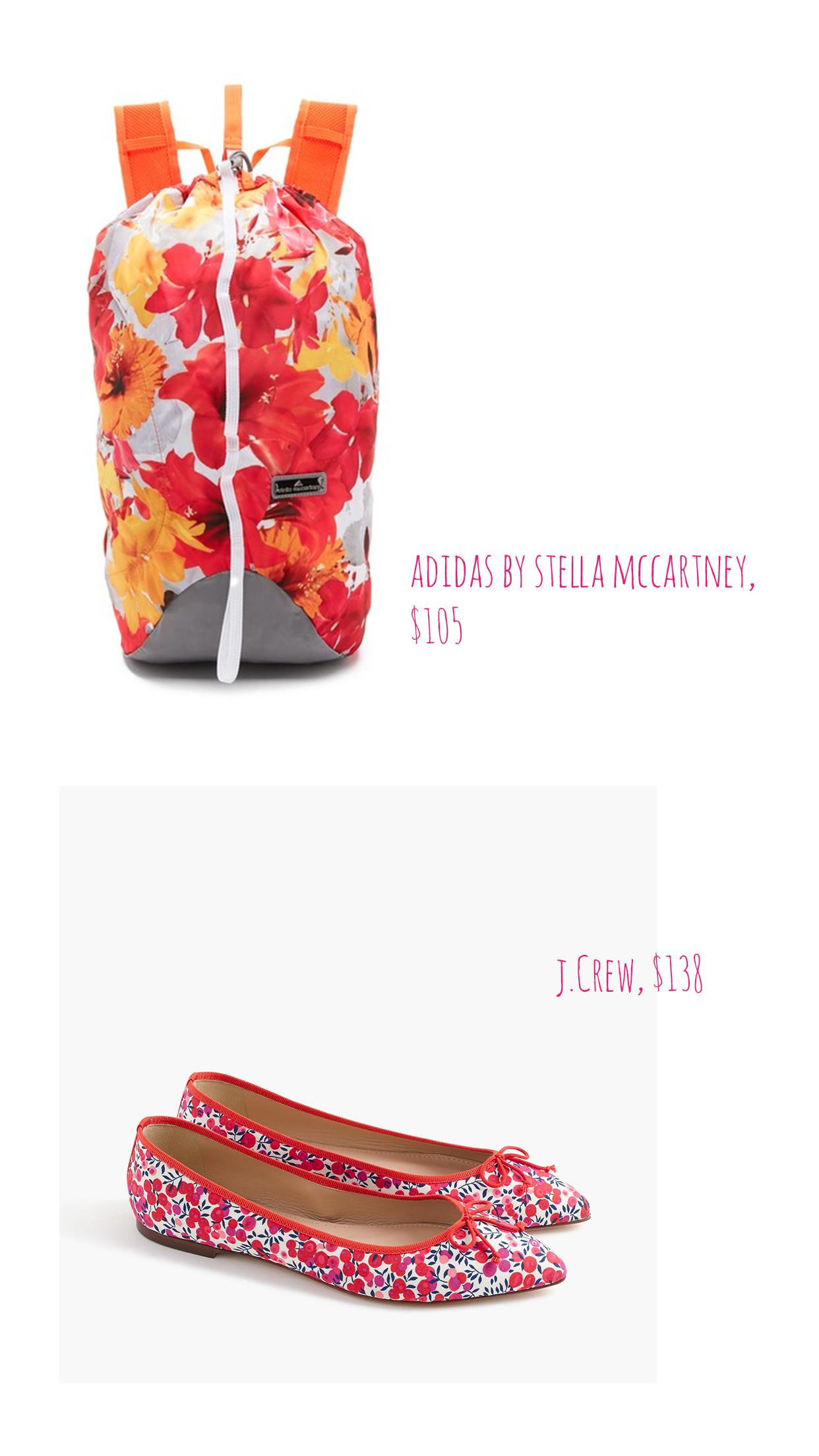 prints- adidas stella mccartney, j.crew