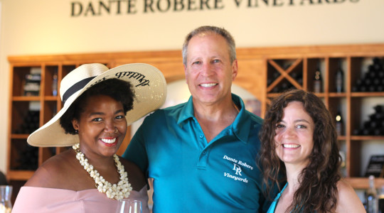 With Dan of Dante Robery winery