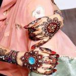 Latest Beautiful Henna Mehndi Designs Collection 2012-13 For Bridal (4)