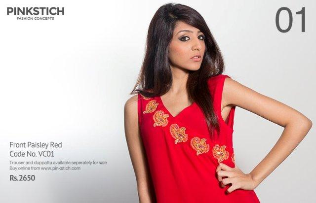 Pinkstich VNew alentine's Day Red Dresses Collection 2013 For Girls 1 (4)