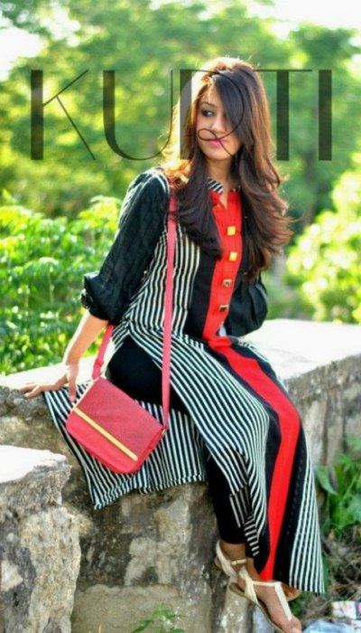 Kurti party wear dress collection (5)