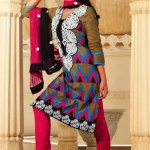 Indian Classy Churidar Suits For women 2013 (4)