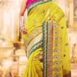 Indian Party wear saree dress for girls