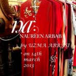Naureen Arbab party casual dress for girls 2013 (10)